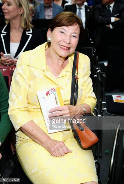 Eva Luise Koehler attends the 36 HanseMerkur Award For Child Protection at Haus Wedells on June 27 2017 in Hamburg Germany