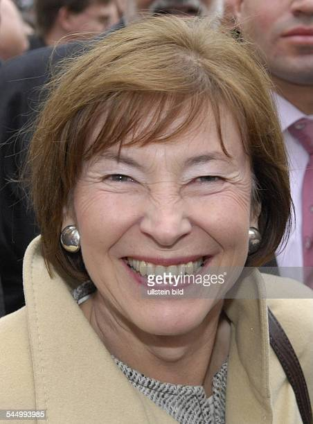 Eva Luise Koehler Wife of the German Federal President