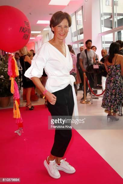 Eva Lutz attends the Gala Fashion Brunch during the MercedesBenz Fashion Week Berlin Spring/Summer 2018 at Ellington Hotel on July 7 2017 in Berlin...