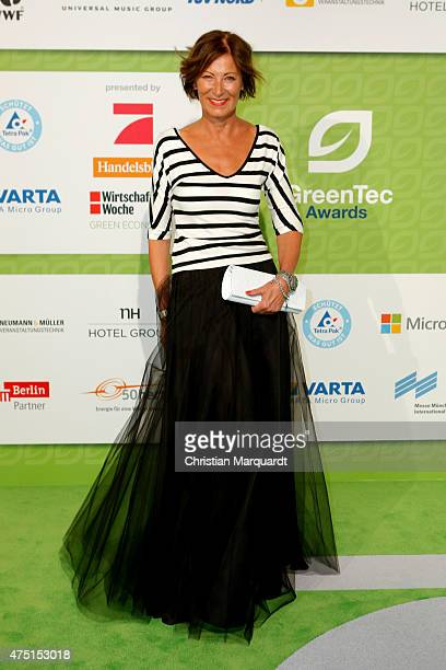 Eva Lutz attends the GreenTec Awards 2015 at Tempodrom on May 29 2015 in Berlin Germany