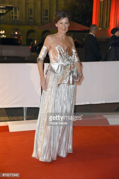 Eva Lutz attends the Leipzig Opera Ball on November 4 2017 in Leipzig Germany