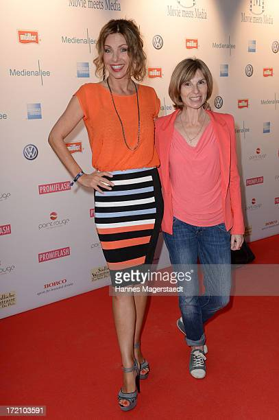 Eva Maehl and Maria Bachmann attend Movie Meets Media Party during the Munich Film Festival 2013 at P1 on July 1 2013 in Munich Germany