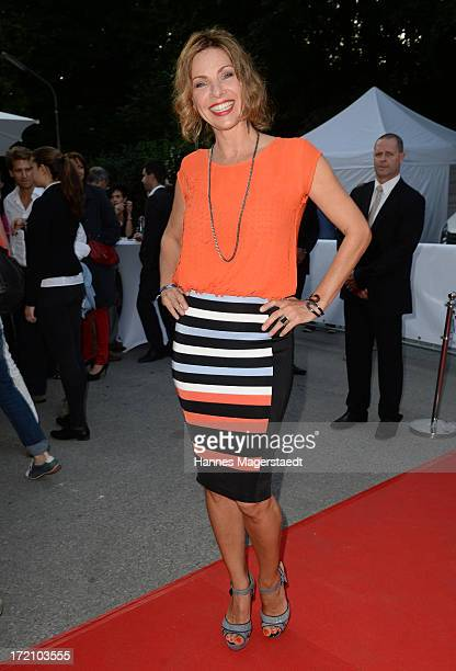Eva Maehl attends Movie Meets Media Party during the Munich Film Festival 2013 at P1 on July 1 2013 in Munich Germany