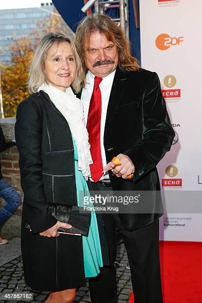 Eva Mandoki and Leslie Mandoki attend the ECHO Klassik 2014 on October 26 2014 in Munich Germany
