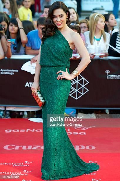Eva Marciel attends 16 Malaga Film Festival ceremony at Teatro Cervantes on April 27 2013 in Malaga Spain