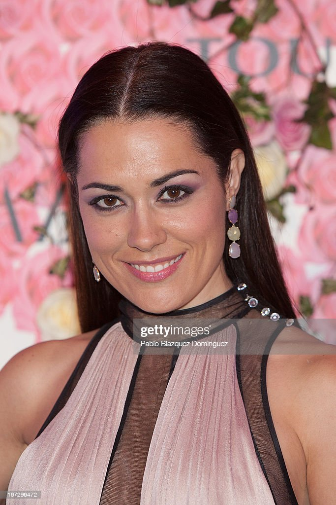 Eva Marciel attends the presentation of the new fragrance 'Rosa' at Ritz Hotel on April 23, 2013 in Madrid, Spain.