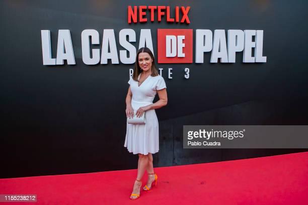 Eva Marciel attends the red carpet of 'La Casa De Papel' 3rd Season by Netflix on July 11 2019 in Madrid Spain