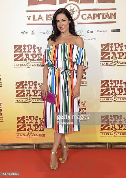 Eva Marciel attends the 'Zipi y Zape y La Isla del Capitan' premiere at the Capitol cinema on July 14 2016 in Madrid Spain