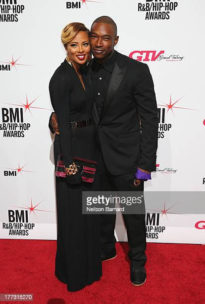 Eva Marcille and Kevin McCall attend 2013 BMI RB/HipHop Awards at Hammerstein Ballroom on August 22 2013 in New York City
