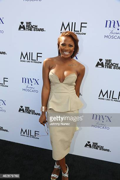 Eva Marcille attends MILF Celebration Of Entertainment Mothers on February 6 2015 in Beverly Hills California