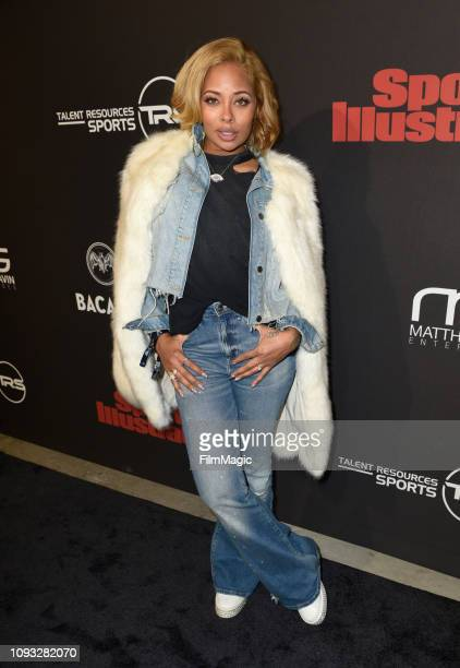 Eva Marcille attends Sports Illustrated Saturday Night Lights powered by Matthew Gavin Enterprises and Talent Resources Sports on February 2 2019 in...