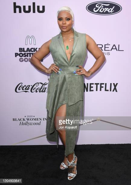 Eva Marcille attends the 13th Annual Essence Black Women In Hollywood Awards Luncheon at the Beverly Wilshire Four Seasons Hotel on February 06 2020...