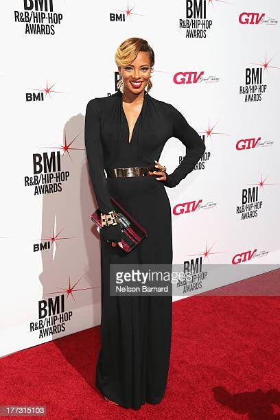 Eva Marcille attends the 2013 BMI RB/HipHop Awards at Hammerstein Ballroom on August 22 2013 in New York City