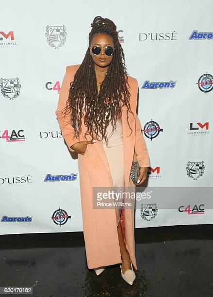 Eva Marcille attends the 9th Annual Celebration 4 A Cause Fashion Show at King Plow Arts Center on December 22 2016 in Atlanta Georgia