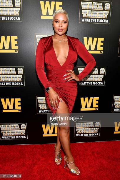 Eva Marcille attends the premiere of Waka Tammy What The Flocka at Republic on March 10 2020 in Atlanta Georgia