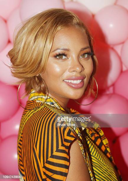 Eva Marcille poses at The Urban Skin Galentine's Day Event hosted by Eva Marcille Founder/Medical Aesthican Rachel Roff at Pure Space on February 5...