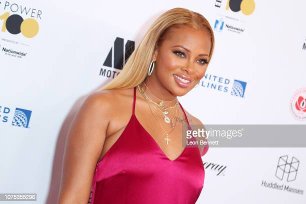 Eva Marcille Sterling attends Ebony Magazine's Ebony's Power 100 Gala at The Beverly Hilton Hotel on November 30 2018 in Beverly Hills California