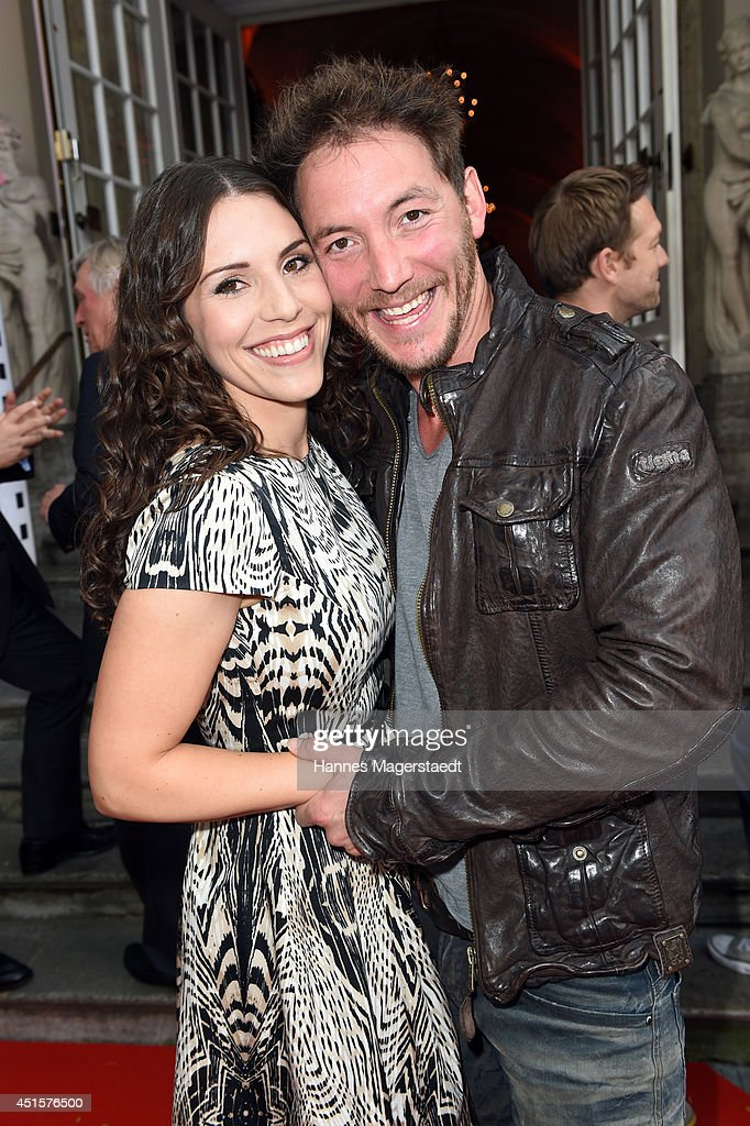 Eva Maria Reichert and Dirk Moritz attend the Bavaria Reception at the Kuenstlerhaus as part of the Munich Film Festival 2014 on July 1, 2014 in Munich, Germany.