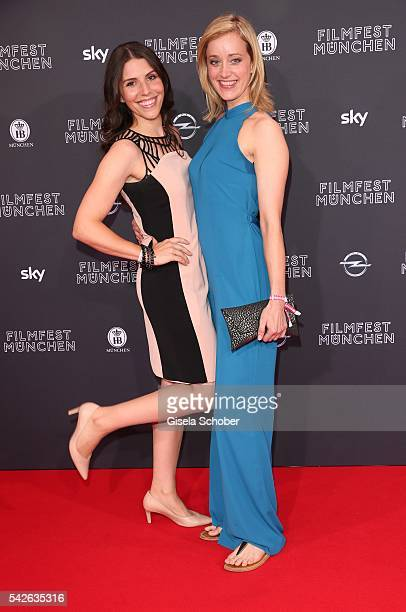 Eva Maria Reichert and Judith Richter during the opening night of the Munich Film Festival 2016 at Mathaeser Filmpalast on June 23 2016 in Munich...
