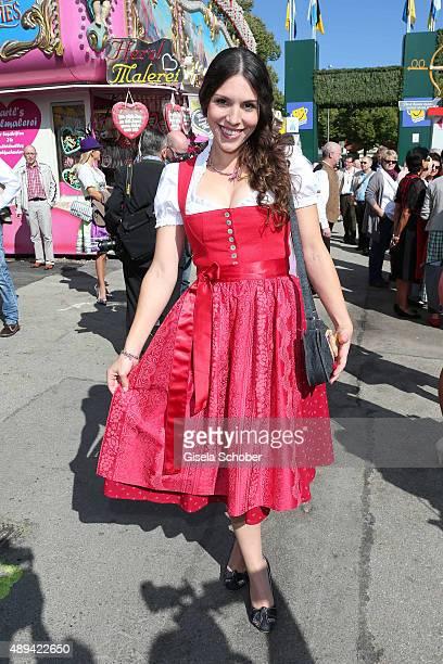 Eva Maria Reichert attends the Regines Sixt Damen Wiesn during the Oktoberfest 2015 on September 21, 2015 in Munich, Germany.