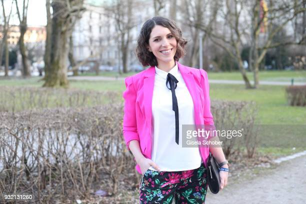 Eva Maria Reichert during the NdF after work press cocktail at Parkcafe on March 14 2018 in Munich Germany