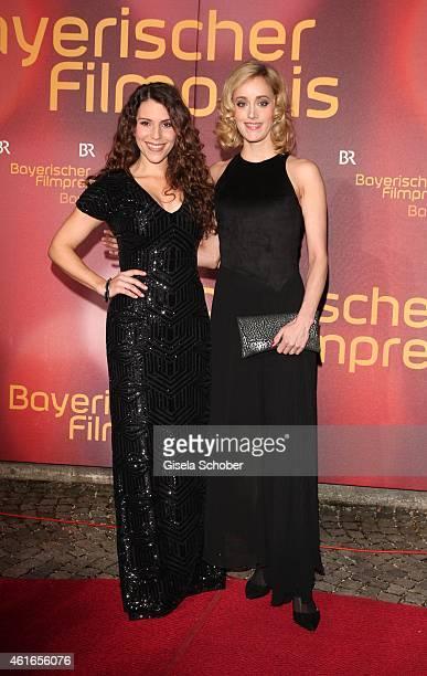 Eva Maria Reichert Judith Richter during the Bavarian Film Award 2015 on January 16 2015 in Munich Germany