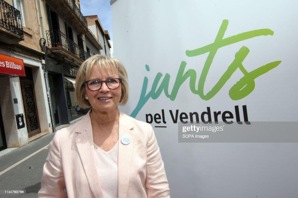 Eva Maria Serramia, candidate for mayor of the city of El... : Nachrichtenfoto