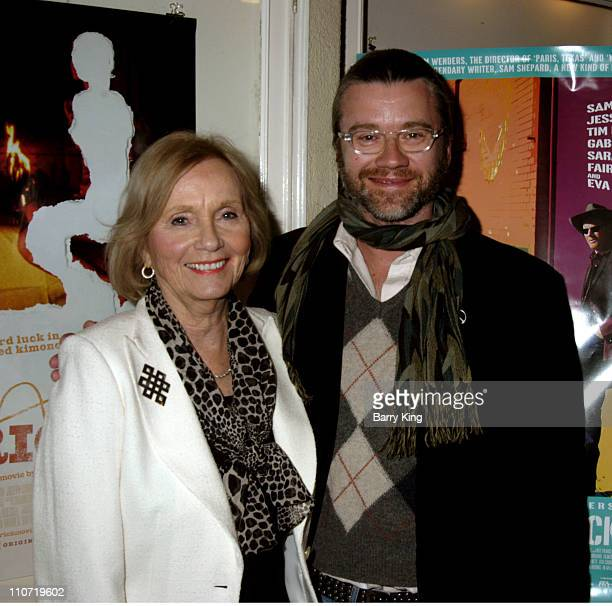 """Eva Marie Saint and Franz Lustig during American Cinematheque Tribute to Eva Marie Saint and """"Dont Come Knocking"""" Screening at Aero Theatre in Santa..."""