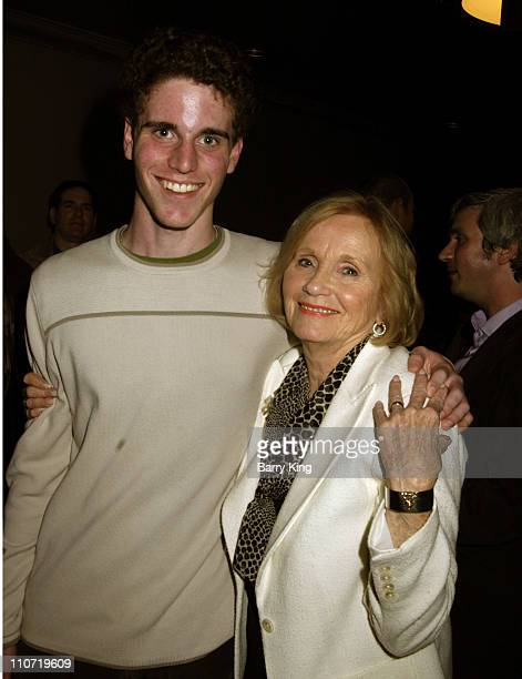 """Eva Marie Saint and grandson Eli Beller during American Cinematheque Tribute to Eva Marie Saint and """"Dont Come Knocking"""" Screening at Aero Theatre in..."""