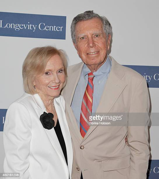 Eva Marie Saint and husband Jeffrey Hayden attend the ICON Awards at Montage Beverly Hills on June 5 2014 in Beverly Hills California