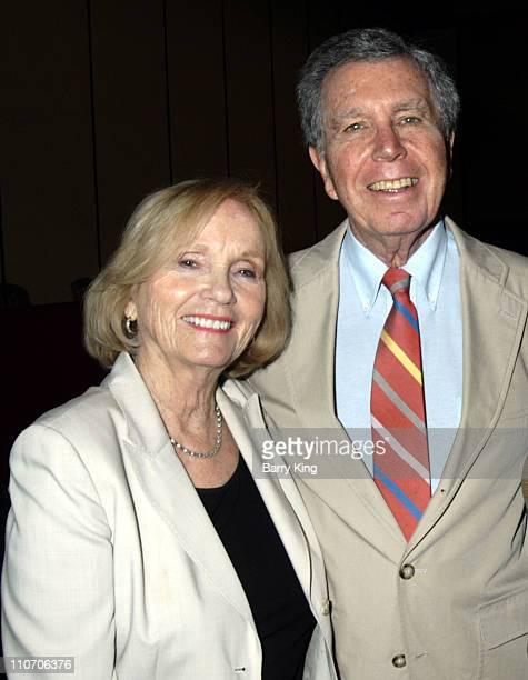 Eva Marie Saint and Jeffrey Hayden during Eva Marie Saint Presents Awards at the Three Graces Women and Epilepsy Conference in Los Angeles California...
