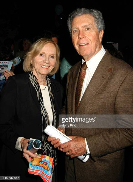 Eva Marie Saint and Jeffrey Hayden during Reprise Broadway's Best Company Play Opening at UCLA's Freud Playhouse in Los Angeles California United...