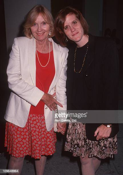 Eva Marie Saint and Laurette Hayden during Screening of Crazy in Love Hosted by TNT Women In Film at Writers Guild in Beverly Hills CA United States