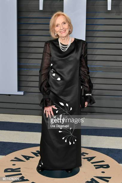 Eva Marie Saint attends the 2018 Vanity Fair Oscar Party hosted by Radhika Jones at Wallis Annenberg Center for the Performing Arts on March 4, 2018...