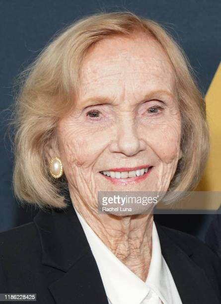 Eva Marie Saint attends the Academy Nicholl Fellowships Screenwriting Awards at AMPAS Samuel Goldwyn Theater on November 07 2019 in Beverly Hills...