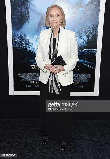 Eva Marie Saint attends the Winter's Tale world premiere at Ziegfeld Theater on February 11 2014 in New York City