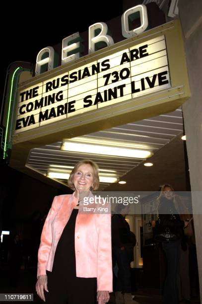 Eva Marie Saint during American Cinematheque Appearance with Eva Marie Saint and Norman Jewison March 11 2006 at Aero Theatre in Santa Monica CA...