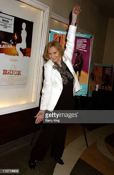 "Eva Marie Saint during American Cinematheque Tribute to Eva Marie Saint and ""Dont Come Knocking"" Screening at Aero Theatre in Santa Monica, CA.,..."