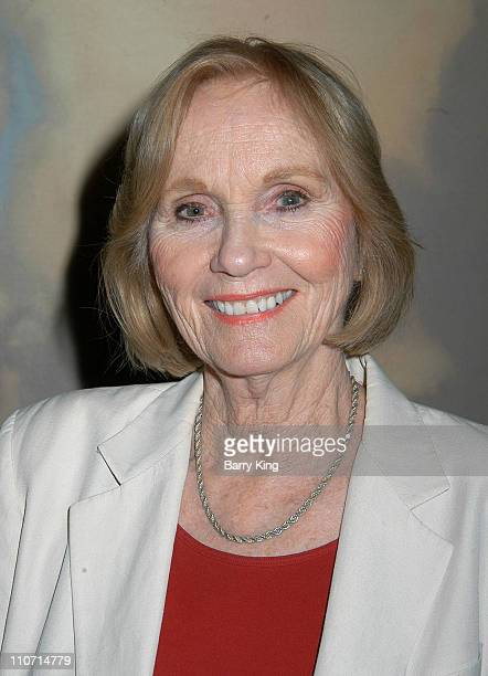 Eva Marie Saint during Eva Marie Saint and Jeffrey Hayden Perform Love Letters to Benefit the Local Epilepsy Foundation at The Beverly Hills Hotel in...