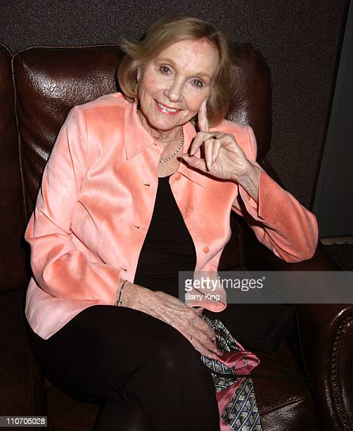 Eva Marie Saint during The Actors Studio Play Opening of Fences Directed by Jeffrey Hayden April 21 2006 at The Actors Studio at Sunset Millennium in...