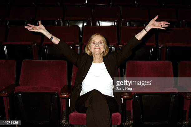 """Eva Marie Saint during The Actor's Studio Present """"Touch the Names"""" Reading Directed by Jeffrey Hayden at The Sunset Millennium in West Hollywood,..."""