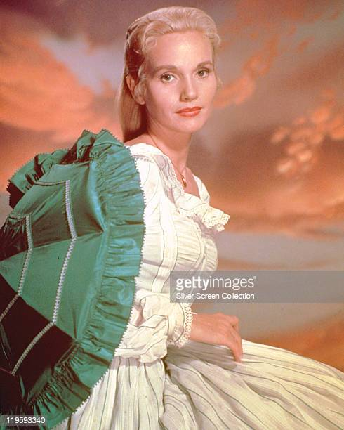 Eva Marie Saint, US actress, in a publicity portrait issued for the television play, 'Our Town', an episode of 'Producer's Showcase', USA, 1955. The...