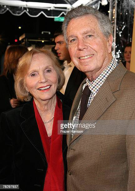 Eva Marie Saint with husband Jeffrey Hayden arrive to the Premiere Of Focus Features' Atonement at The Academy of Motion Picture Arts and Sciences on...