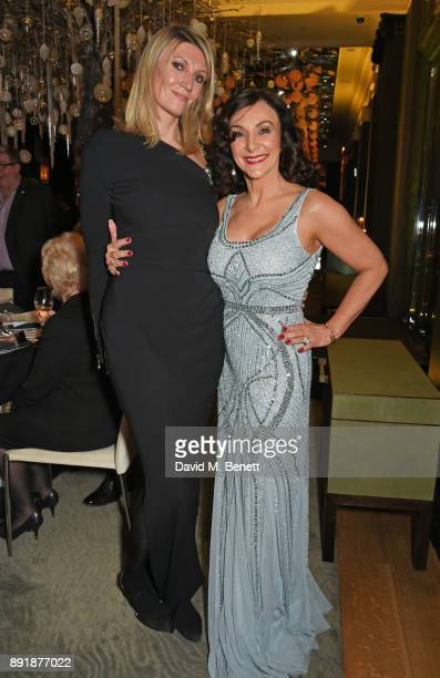 Eva McBride and Shirley Ballas attend the Rosewood Mini Wishes Gala Dinner in aid of Great Ormond Street Hospital Children's Charity at Rosewood...