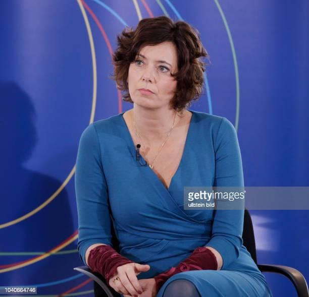 Eva Menasse Deutschland Berlin Schloss Bellevue Forum Bellevue zur Zukunft der Demokratie Die Freiheit des Denkens in unruhigen Zeiten Ansprache und...