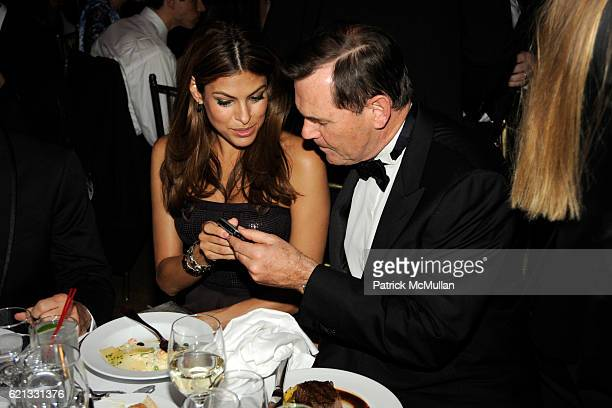 Eva Mendes and Bernd Beetz attend The 2nd Annual DKMS Linked Against Leukemia Gala at Capitale on May 7 2008 in New York City