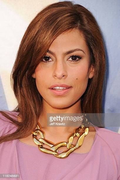 Eva Mendes arrives at Spike TV's 5th annual 2011 'Guys Choice' Awards at Sony Pictures Studios on June 4 2011 in Culver City California