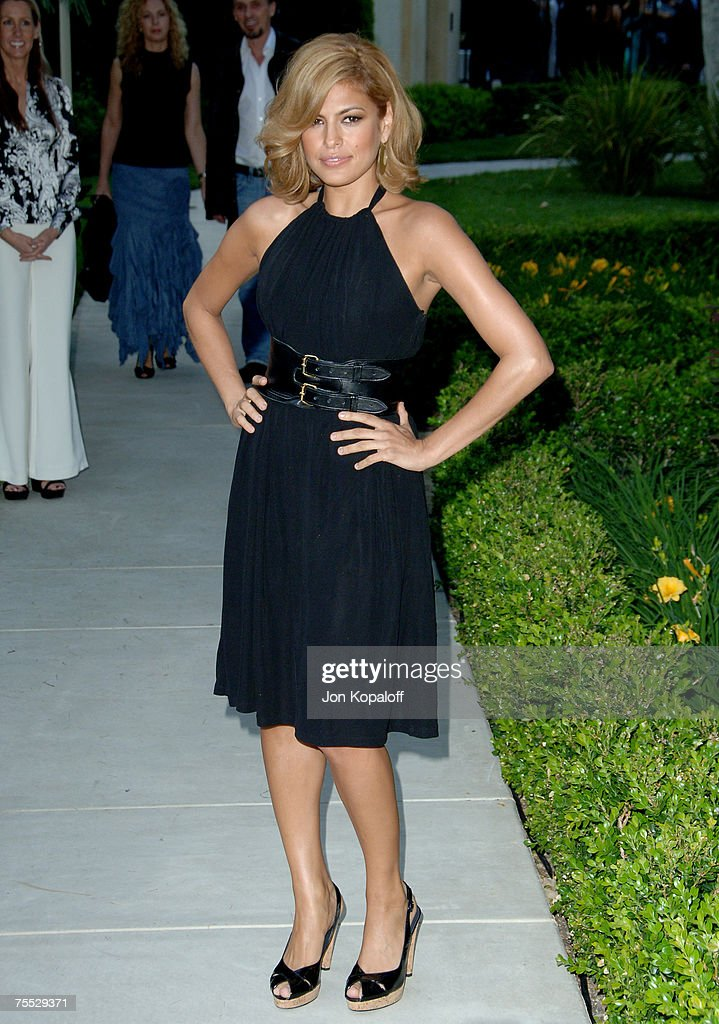 Eva Mendes at the Chrysalis' 5th Annual Butterfly Ball at The Italian Villa Carla & Fred Sands in Bel Air, California.