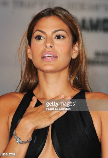"Eva Mendes attends the ""Bad Lieutenant: Port Of Call New Orleans"" premiere at the Sala Grande during the 66th Venice Film Festival on September 4,..."