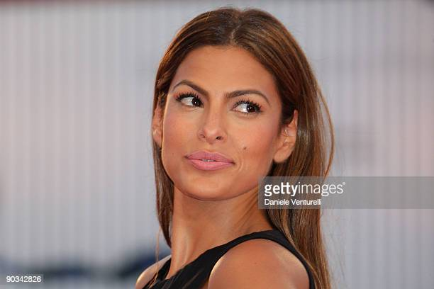 Eva Mendes attends the Bad Lieutenant Port Of Call New Orleans premiere at the Sala Grande during the 66th Venice Film Festival on September 4 2009...